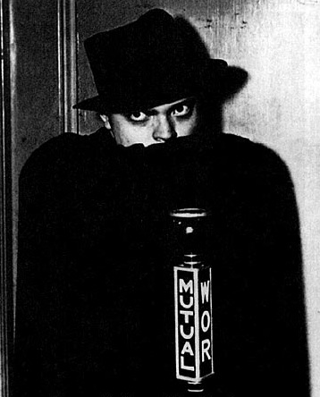 Orson Welles as the Shadow