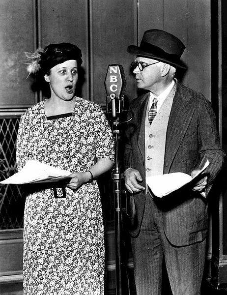Marian and Jim Jordan in Fibber McGee and Molly